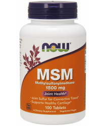 MSM 1500 mg 200 Tablets