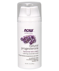 Natural Progesterone Liposomal Skin Cream with Lavender