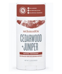 Schmidt's Natural Deodorant - Cedarwood + Juniper