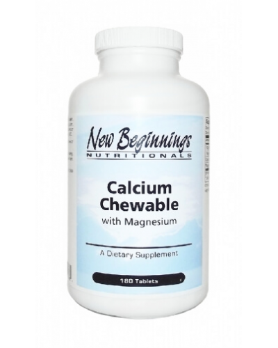 Calcium Chewable w / Magnesium 180 Tablets