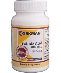 Folinic Acid 800 mcg Capsules - Hypo 180 ct