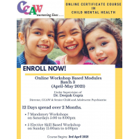 Online CMH (Child Mental Health) Course From CCAW April to May 2021