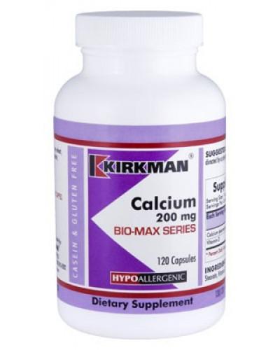 Calcium 200 mg - Bio-Max Series  - Hypo 120 ct