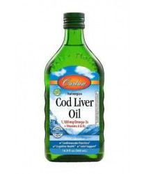 Cod Liver Oil, Natural 500ml