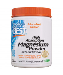 Doctor's Best, High Absorption Magnesium Powder - 200g