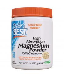 Doctor's Best - High Absorption Magnesium Powder - 200g