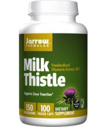 Milk Thistle- 150mg, 100 veg Caps - Jarrow Formulas
