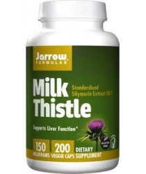 Milk Thistle- 150mg, 200 Veg Caps - Jarrow Formulas