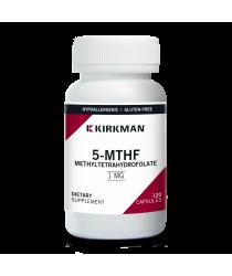 5-MTHF ([6S]-5-Methyltetrahydrofolate) 1 mg - Hypoallergenic 120 ct