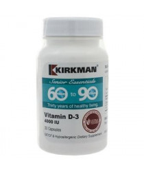 60 to 90 Vitamin D-3 4000 IU 30 Capsules