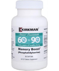 60 to 90 Memory Boost (Phosphatidylserine) 90 soft gel