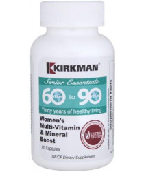 60 to 90 Women's Multi-Vitamin and Mineral Boost 60 ct