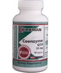 Coenzyme Q10 25 mg Capsules - Hypo 100 ct
