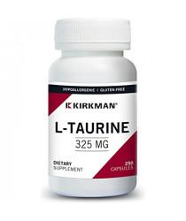L-Taurine 325 mg Capsules - Hypo 250 ct