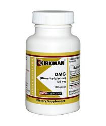 DMG (Dimethylglycine) 125 mg Capsules - Hypo 100 ct