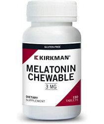 Melatonin 3 mg Chewable Tablets