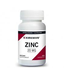 Zinc 20 mg - 250 Capsules
