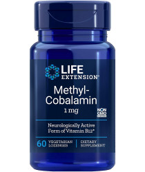 Methylcobalamin, 1 Mg Lozenges, 60 Count