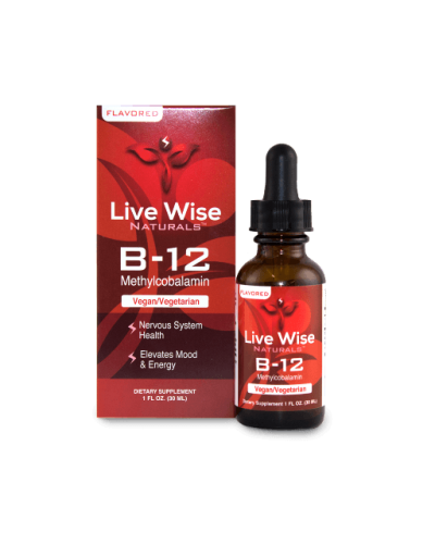 VITAMIN B12 Flavored - 1oz