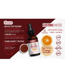 VITAMIN B12 LIQUID DROPS - BIO ACTIVE BLEND