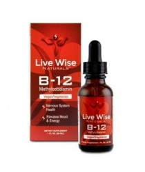 VITAMIN B12 - 1oz - Live Wise