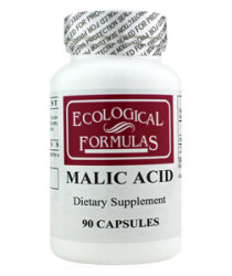 Malic Acid 600 mg (90 Capsules) - NEW!