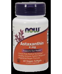 Astaxanthin 4 mg Veggie Softgels