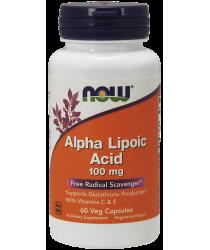 Alpha Lipoic Acid 100 mg 60 Veg Capsules
