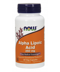 Alpha Lipoic Acid 250 mg 60 Veg Capsules