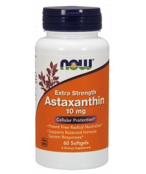 Astaxanthin Extra Strength 10 mg Softgel