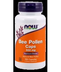 Bee Pollen 500 mg 100 Capsules