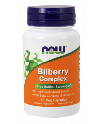 Bilberry Complex 80 mg 50 Veg Capsules