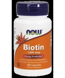 Biotin 1000 mcg Capsules