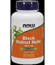 Black Walnut Hulls 500 mg Capsules