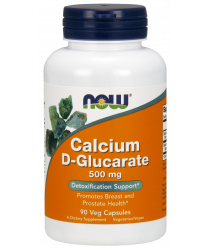 Calcium D-Glucarate 500 mg Veg Capsules