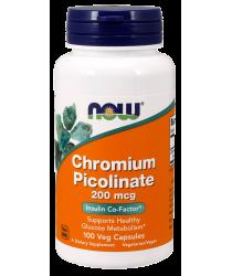 Chromium Picolinate 200 mcg 100 Veg Capsules