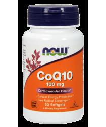 CoQ10 100 mg 50 Softgels
