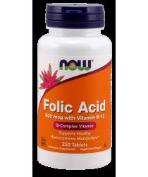Folic Acid 800 mcg with Vitamin B-12 Tablets