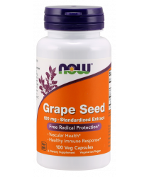 Grape Seed 100 mg 100 Veg Capsules