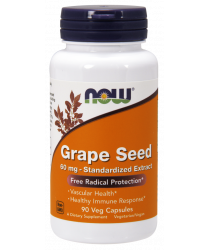 Grape Seed 60 mg 90 Veg Capsules