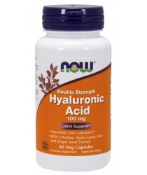 Hyaluronic Acid 100mg 60 Veg Capsules