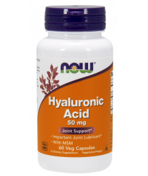 Hyaluronic Acid with MSM 60 Veg Capsules