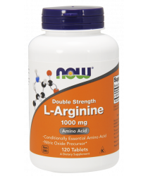 L-Arginine, Double Strength 1000 mg Tablets
