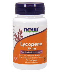 Lycopene 20 mg Softgels