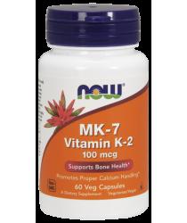 MK-7 Vitamin K-2 100 mcg 120 Veg Capsules