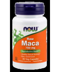 Maca 750 mg Raw 30 Veg Capsules