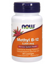 Methyl B-12 5,000 mcg 60 Lozenges