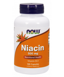 Niacin 500 mg 100 Tablets
