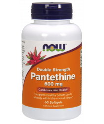 Pantethine 600 mg Softgels