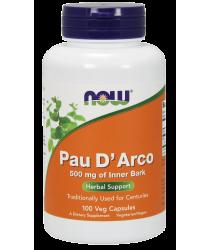 Pau D'Arco 500 mg 100 Veg Capsules